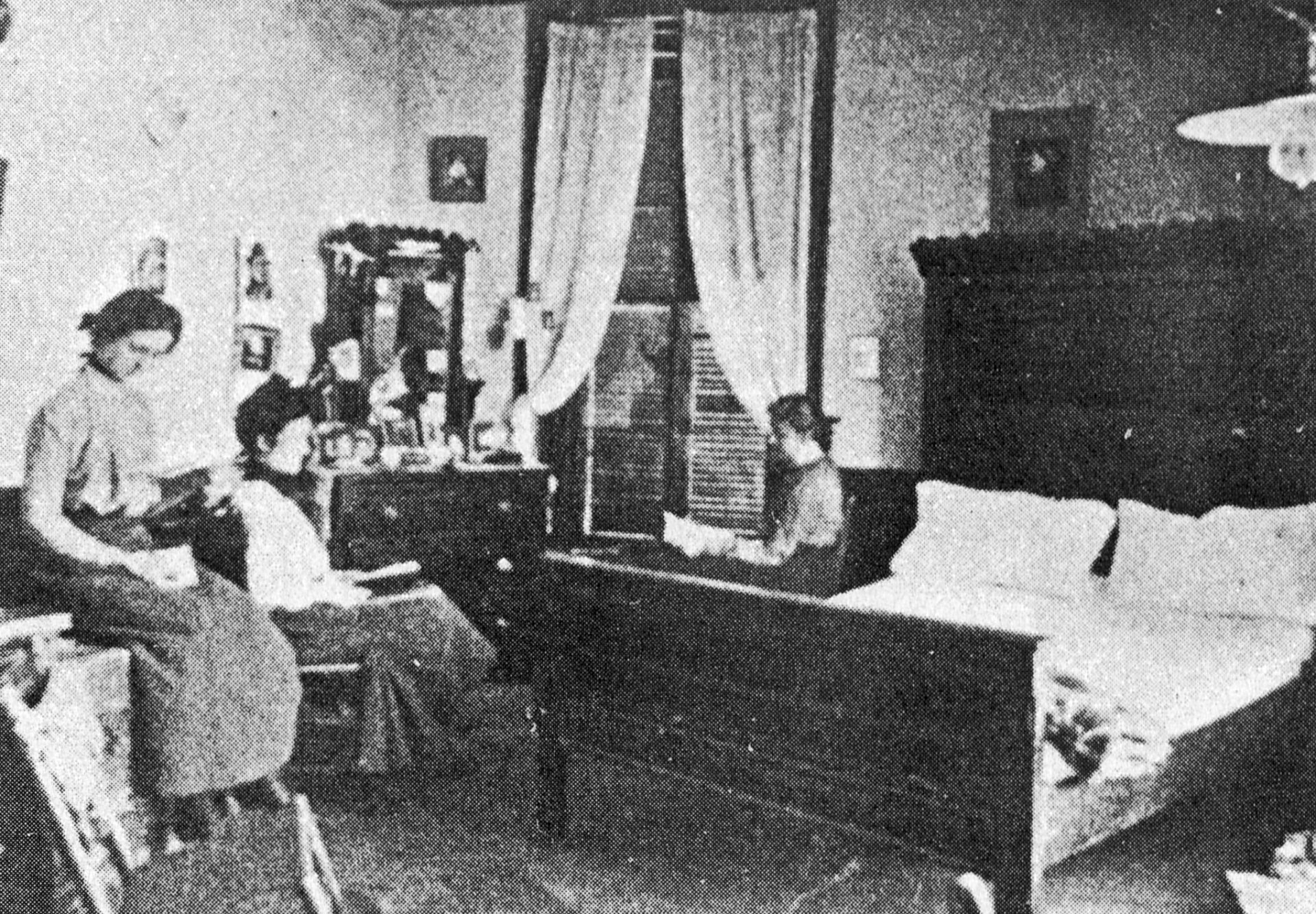 Kappa Delta Longwood College Dorm Room early 1900s