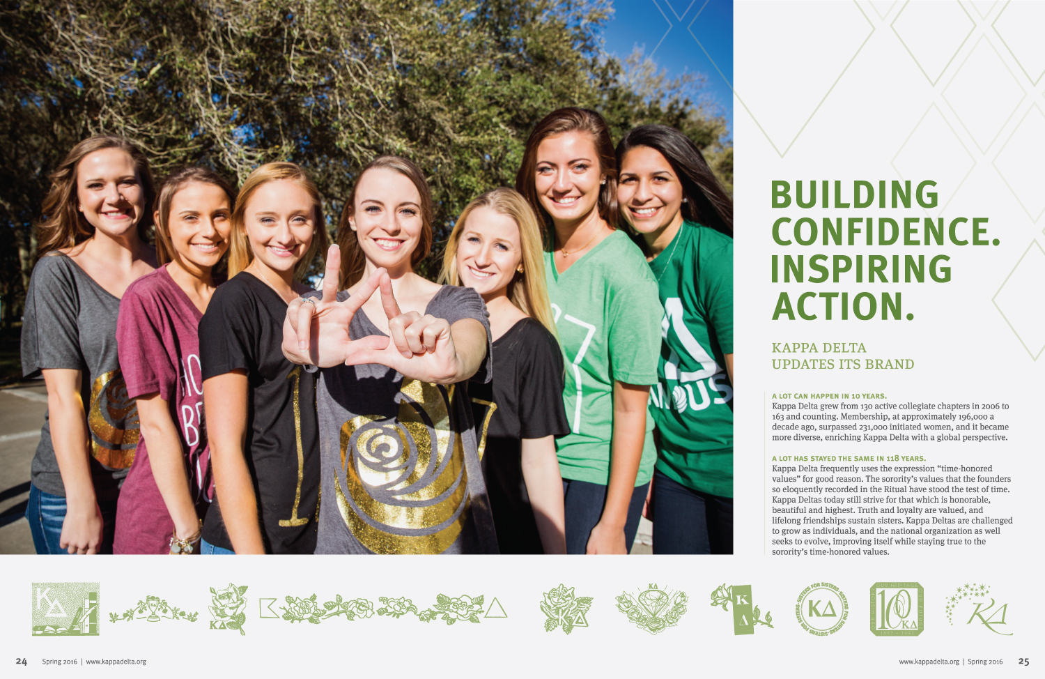 spring-2016-angelos-kappa-delta-sorority-magazine-launch-new-brand-logo-tagline-building-confidence-inspiring-action