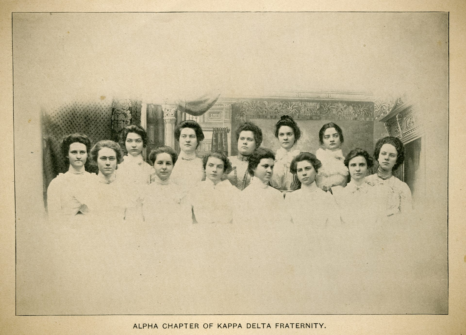 Kappa Delta History Alpha Chapter Longwood College