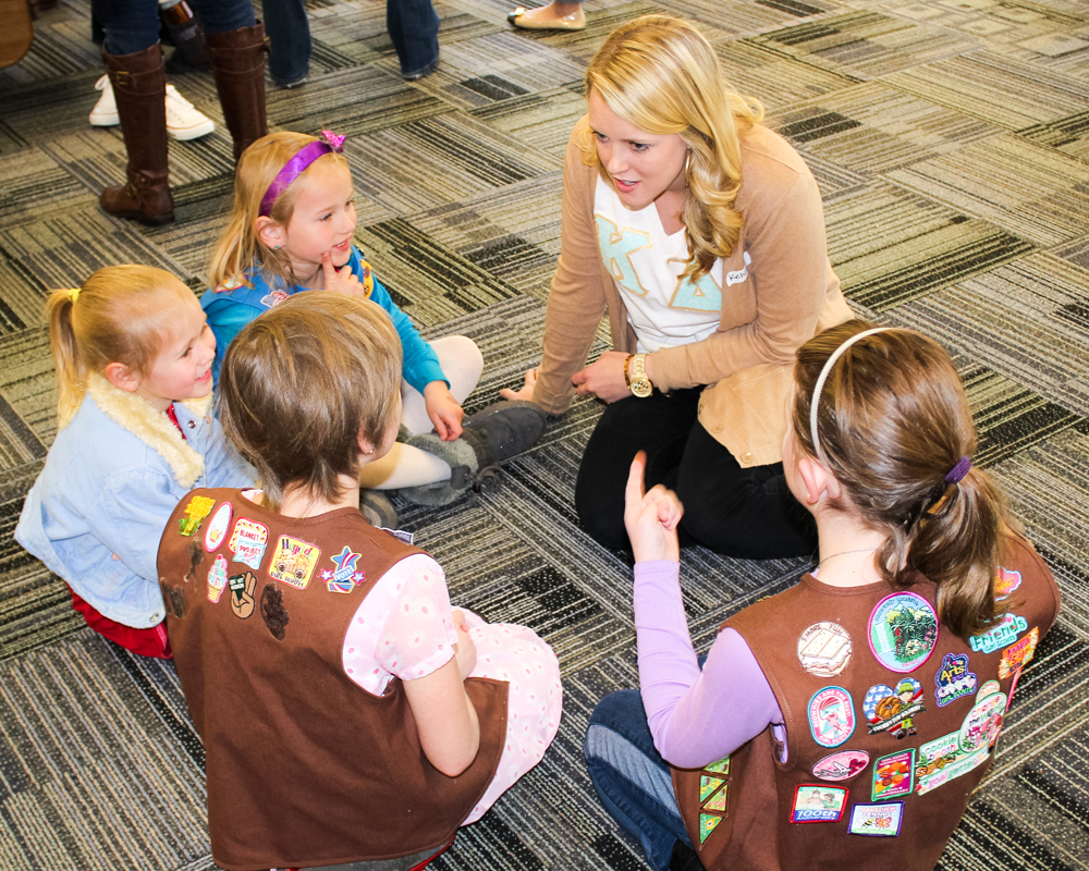 09 Kappa Delta Girl Scouts confidence inspire action workshop
