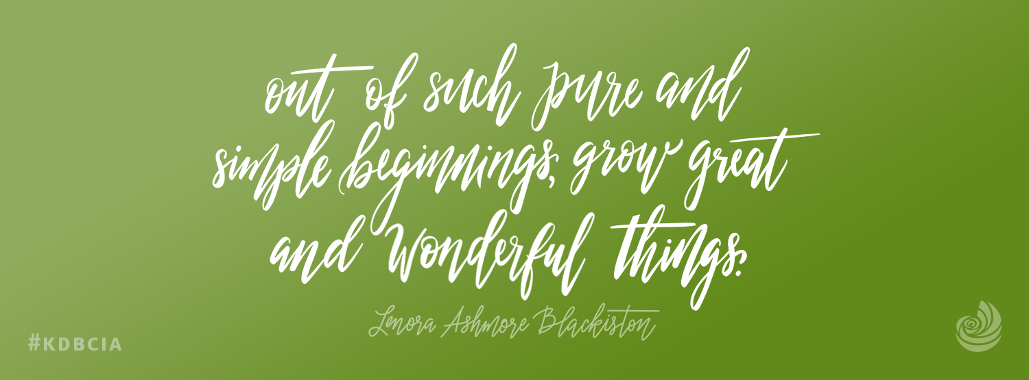 Lenora kappa delta founder pure and simple beginnings quote facebook cover photo