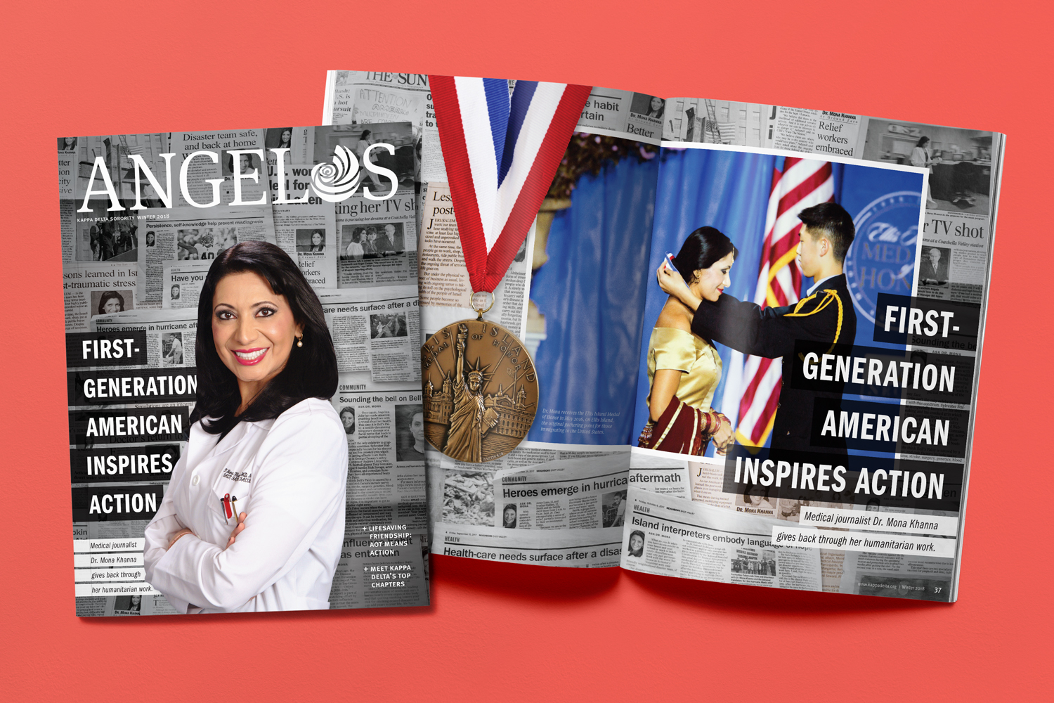 First-Generation American Inspires Action: Medical journalist Dr. Mona Khanna