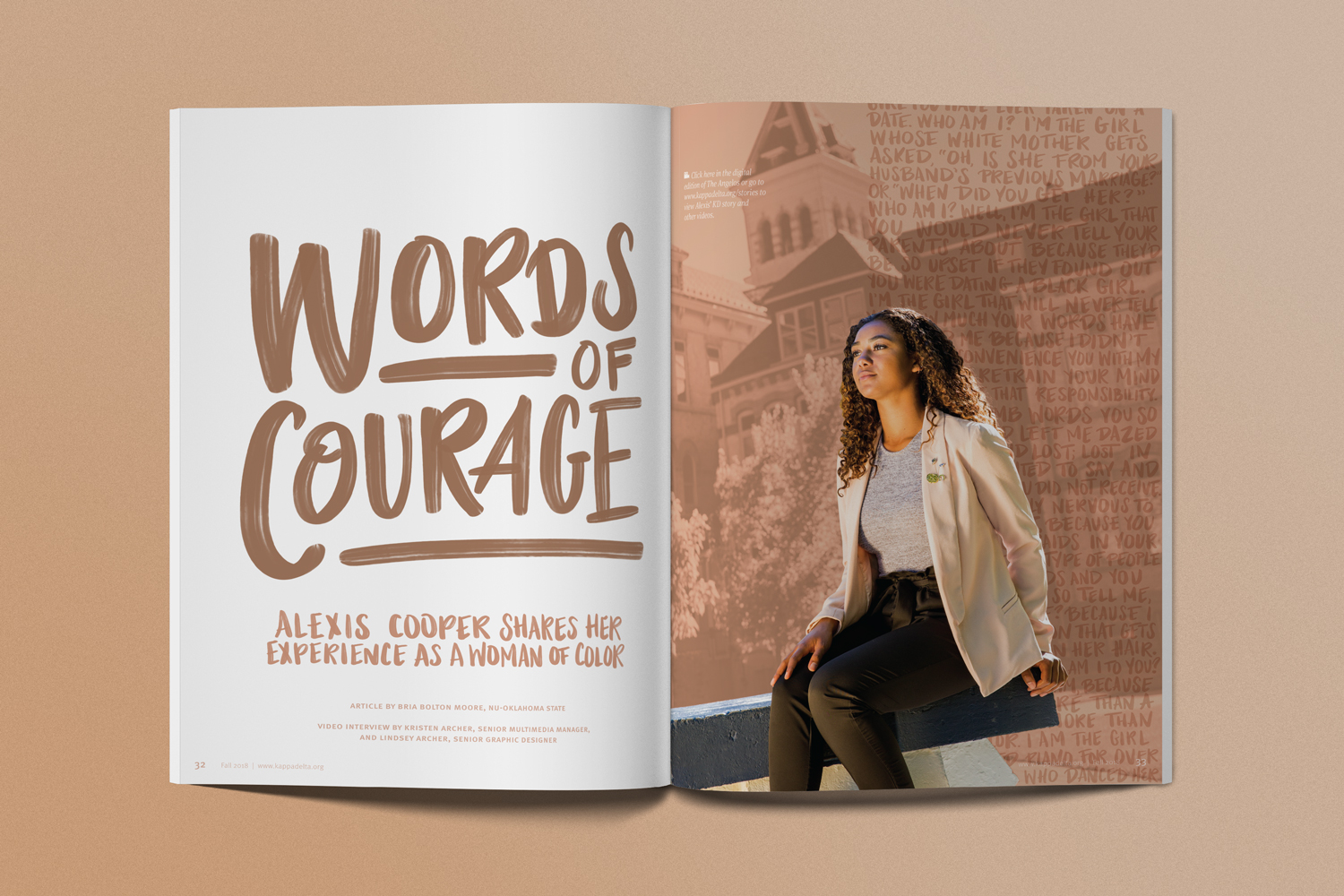 Words of Courage: Alexis Cooper, Utah State